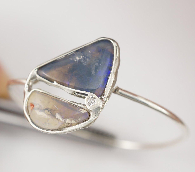 Opal diamant ring sas spirituelles spielzeug